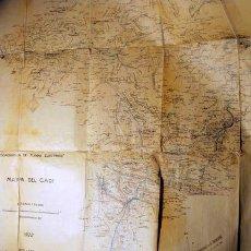 Mapas contemporáneos: MAPA DEL CADÍ [ CEC - 1922 ] - BERNA, KUMMERLY & FREY. Lote 40062003