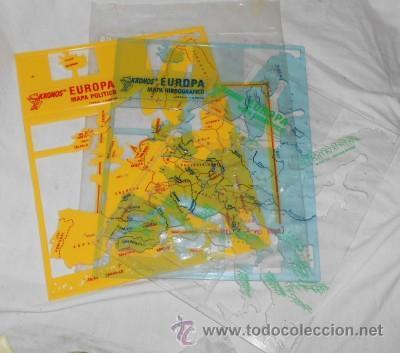 plantillas kronos del mapa de europa mapa pol  Comprar Mapas