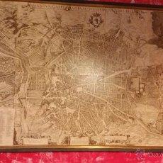 Mapas contemporáneos: CUADRO TOPOGRAPHIA DE LA VILLA DE MADRID. Lote 51189632
