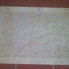 Mapas contemporáneos: MAPA GENERAL CARTOGRAFÍA MILITAR TABERNAS DE ALMERIA 1:50000 SERIE L - 70X46,5CM. Lote 51362471