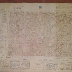 Mapas contemporáneos: MAPA GENERAL CARTOGRAFÍA MILITAR ALHAMA DE ALMERIA E 1:50000 - 77,5X58. Lote 51362624