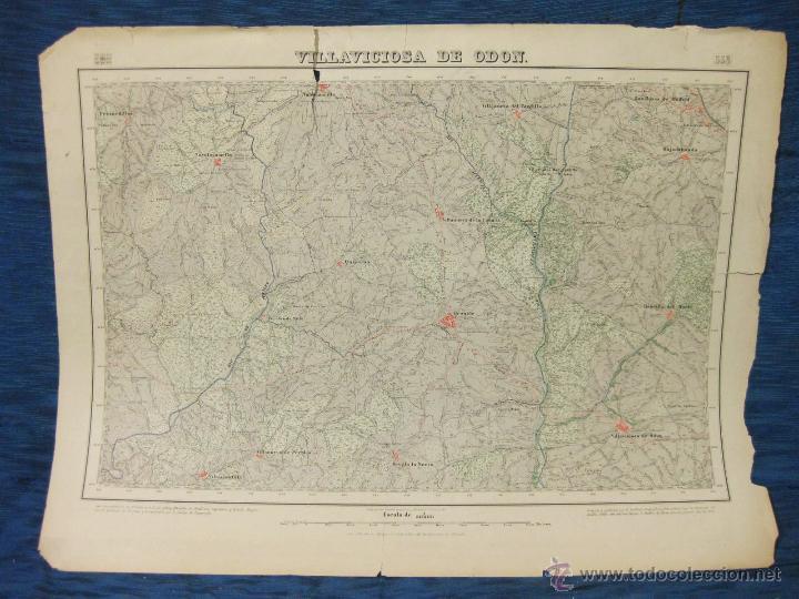 Mapa Villaviciosa De Odon.Plano O Mapa De Villaviciosa De Odon De 1877