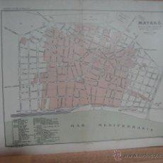 Mapas contemporâneos: PLANO DE MATARO. Lote 51480015