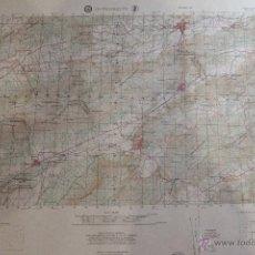 Mapas contemporáneos: ANTIGUO MAPA TOPOGRÁFICO DE ONTENIENTE, DEPARTAMENTO DE DEFENSA DE LOS ESTADOS UNIDOS.. Lote 51656429