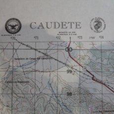 Mapas contemporáneos: ANTIGUO MAPA TOPOGRÁFICO DE CAUDETE, DEPARTAMENTO DE DEFENSA DE LOS ESTADOS UNIDOS.. Lote 51656445