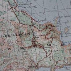 Mapas contemporáneos: ANTIGUO MAPA HIDROGRAFICO TOPOGRÁFICO DE JAVEA, DEPARTAMENTO DE DEFENSA DE LOS ESTADOS UNIDOS.. Lote 51666719