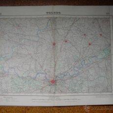 Mapas contemporáneos: MAPA DE TOLEDO DEL INSTITUTO GEOGRAFICO E 1:50000 VARIAS TINTAS 2ª EDICION 1944. Lote 51766698