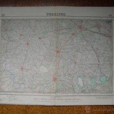 Mapas contemporáneos: MAPA DE TORRIJOS DEL INSTITUTO GEOGRAFICO E 1:50000 VARIAS TINTAS 2ª EDICION 1945. Lote 51766729