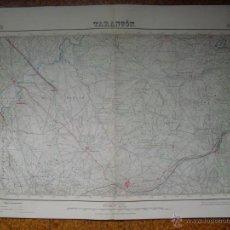 Mapas contemporáneos: MAPA DE TARANCON DEL INSTITUTO GEOGRAFICO E 1:50000 VARIAS TINTAS 1ª EDICION 1941. Lote 51767327
