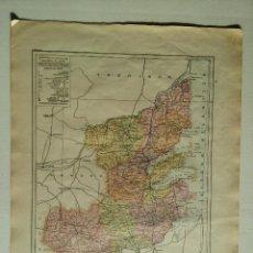 Mapas contemporáneos: MAPA PROVINCIA PONTEVEDRA - PUB, BAILLY-BAILLIERE Y RIERA - SIGNOS CONVENCIONALES - HISTORIA ETC. . Lote 51774915