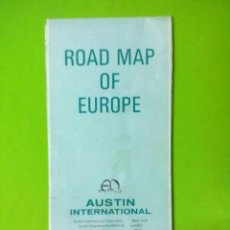 Mapas contemporáneos: EUROPA MAPA CARRETERAS AUSTIN INTERNATIONAL. Lote 51857327