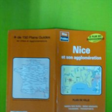 Mapas contemporáneos: BLAY FOLDEX PLANO NIZA. Lote 51857960