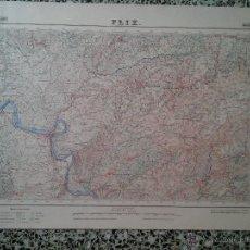 Mapas contemporáneos: FLIX – 1951 - MAPA DEL INSTITUTO GEOGRAFICO Y CATASTRAL – MED. 69 X 50 CM. APROX. . Lote 51962047