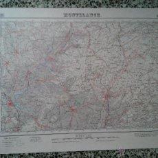Mapas contemporáneos: MONTBLANC – 1950 - MAPA DEL INSTITUTO GEOGRAFICO Y CATASTRAL – MED. 69 X 50 CM. APROX.. Lote 51962227