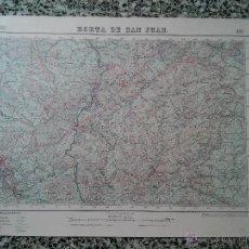 Mapas contemporáneos: HORTA SANT JOAN – 1943 - MAPA DEL INSTITUTO GEOGRAFICO Y CATASTRAL – MED. 69 X 50 CM. APROX.. Lote 51962320
