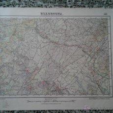 Mapas contemporáneos: ULLDECONA – 1928 - MAPA DEL INSTITUTO GEOGRAFICO Y CATASTRAL – MED. 69 X 50 CM. APROX.. Lote 51963028
