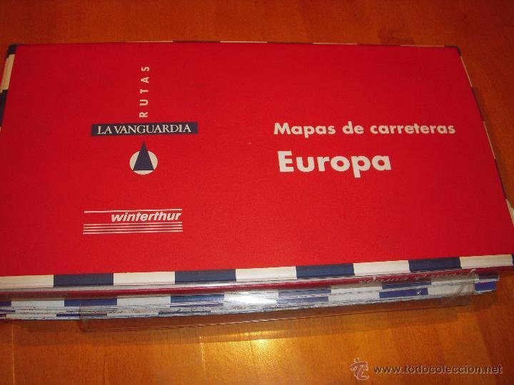 Mapas De Carreteras De Europa La Vanguardia Comprar Mapas