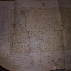 Mapas contemporáneos: MAPA MILITAR DE ESPAÑA ELDA 60 X 80 CMS . Lote 52333181