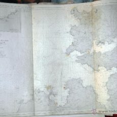 Mapas contemporáneos: CARTA QUE COMPRENDE DESDE LA ATALAYA DE CAYON HASTA CABO PRIOR. Lote 52388576