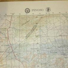 Mapas contemporáneos: ANTIGUO MAPA TOPOGRÁFICO DE PINOSO, DEPARTAMENTO DE DEFENSA DE LOS ESTADOS UNIDOS.. Lote 52973373
