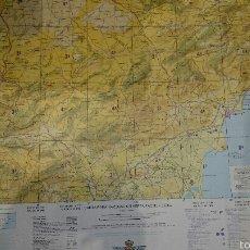 Mapas contemporáneos: MAPA TOPÒGRAFICO, CARTA DE NAVEGACION AEREA, PROVINCIA DE ALICANTE, CENTRO CARTOGRAFICO EJERCITO AIR. Lote 52973442