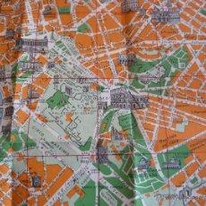 Mapas contemporáneos: ANTIGUO MAPA DE ROMA ESCALA 1:12000 AÑOS 50. Lote 44046455