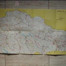 Mapas contemporáneos: MAPA. SIERRAS DE CAZORLA Y SEGURA. MINISTERIO DE AGRICULTURA. . Lote 53300440