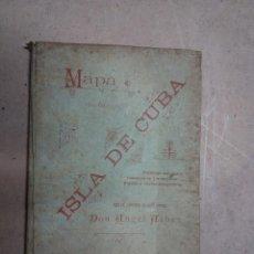 Mapas contemporáneos: CUBA 1895. Lote 53305666