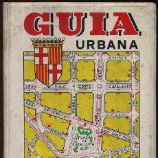 Mapas contemporáneos: GUIA URBANA DE BARCELONA - AÑOS 80 ---- (REF-SAMIIZES3). Lote 53382256