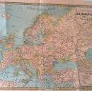 Mapas contemporáneos: MAPAS PALUZIE - EUROPA 1939 (IMPRENTA ELZEVIRIANA Y LIBRERÍA CAMÍ). Lote 53481455