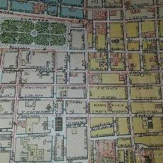 Mapas contemporâneos: PLANO DE MEXICO DF ANTERIOR A 1893 (REF AA1). Lote 51152894