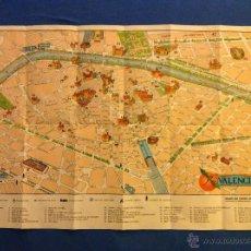 Mapas contemporáneos: MAPA DE LA CIUDAD DE VALENCIA, 1958. Lote 180467686