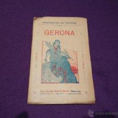 Mapas contemporáneos: GERONA. Lote 54002085