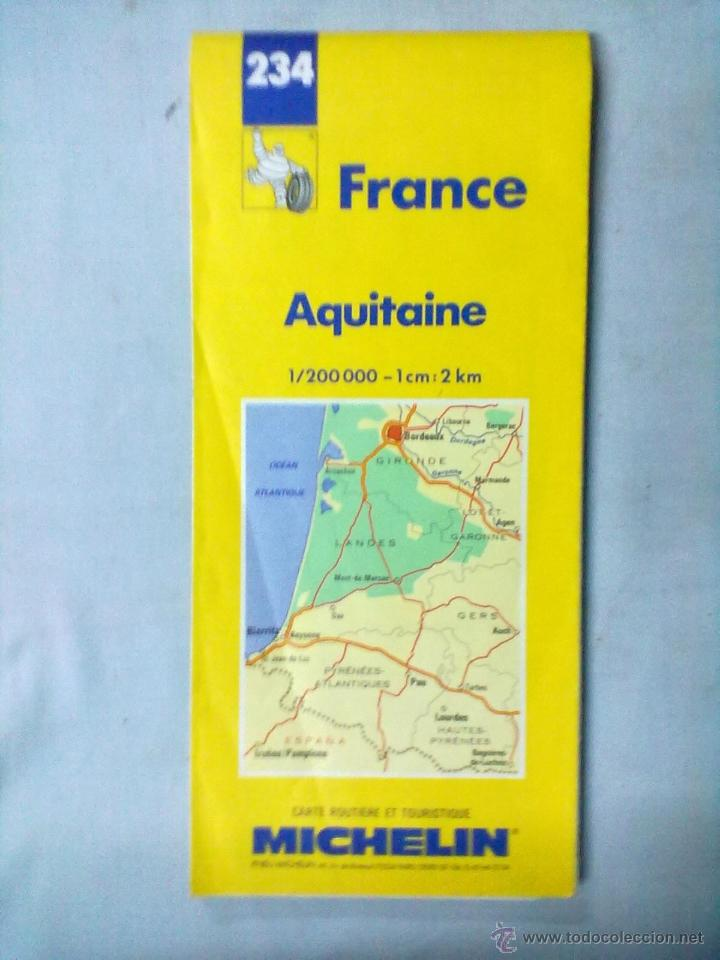 Aquitania Mapa Michelin Aquitaine Buy Contemporary Maps At