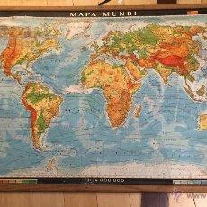 Mapas contemporáneos: MAPA MUNDI COLEGIO ALEMÁN EDICIÓN PORTUGAL. Lote 54517278