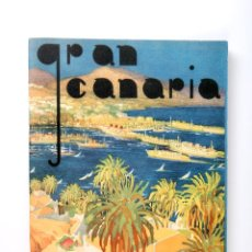 Mapas contemporáneos: ANTIGUA GUIA PINTORESCA GRAN CANARIAS. Lote 54575094