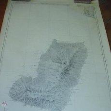 Mapas contemporáneos: MAPA. CARTA DE LA ISLA DE FERNANDO POO.SECCION HIDROGRAFIA. MADRID 1927. Lote 54768342