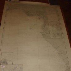 Contemporary maps - MAPA. CARTA DESDE CABO SAN PABLO HASTA CABO SAN BLAS (LOANDA) DIRECCION HIDROGRAFIA 1905 - 54769044
