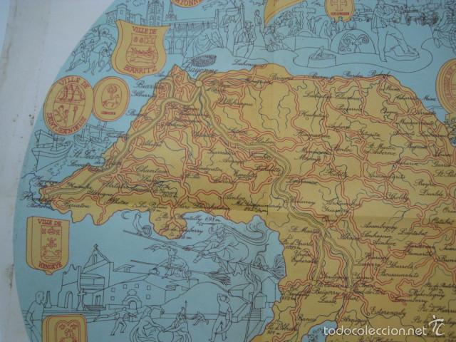 Mapa Pais Vasco Frances.Mapa Pais Vasco Frances