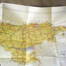 Mapas contemporáneos: MAPA DE LA PROVINCIA DE SANTANDER, JOAQUIN BEDIA, SANTANDER 1980, 85 X 63 CM, PLEGADO. Lote 56415400