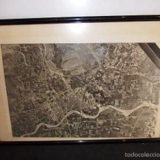 Mapas contemporáneos: ANTIGUO MAPA AEREO DE GANDIA. Lote 56573618