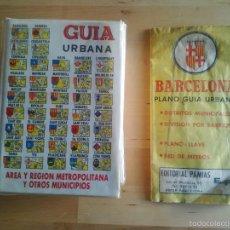 Mapas contemporáneos: GUIA URBANA REGION METRIPOLITANA BARCELONA Y OTROS MUNICIPIOS - ED.PAMIAS - 1988. Lote 56614633