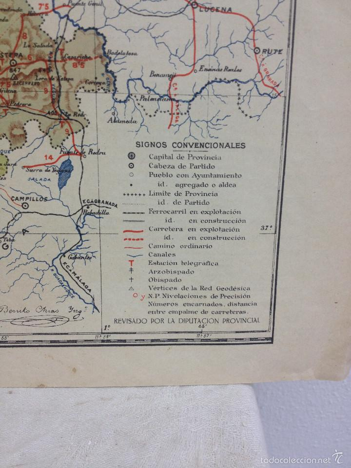 Mapas contemporáneos: MAPA PROVINCIA SEVILLA.INGENIERO BENITO CHÍAS YNG.ESCALA EN KILÓMETROS - Foto 4 - 56740260