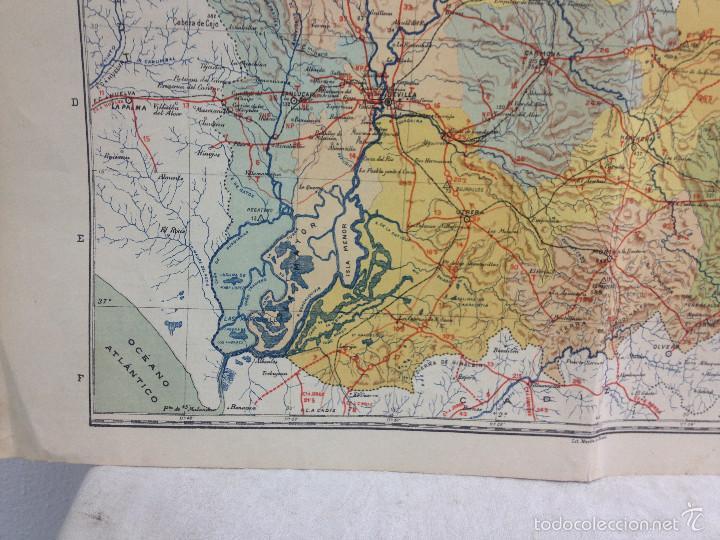 Mapas contemporáneos: MAPA PROVINCIA SEVILLA.INGENIERO BENITO CHÍAS YNG.ESCALA EN KILÓMETROS - Foto 9 - 56740260