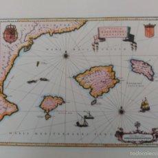 Mapas contemporáneos: REPRODUCCIÖN DE MAPA DEL SIGLO XVIII.. Lote 56829578