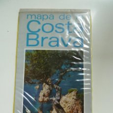 Mapas contemporáneos: MAPA DE LA COSTA BRAVA.. Lote 57178896