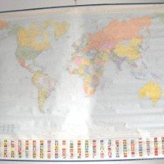 Mapas contemporáneos: MAPA MUNDIAL (MONDIAL) POLITICO - 132CM X 105 CM. Lote 57390343