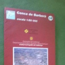 Mapas contemporáneos: MAPA CONCA DE BARBERÀ. Lote 57525297