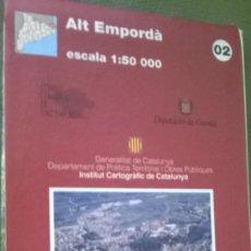 Mapas contemporáneos: MAPA ALT EMPORDÀ. Lote 57525323