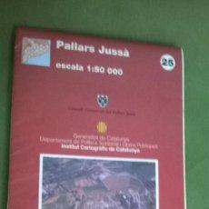 Mapas contemporáneos: MAPA PALLARS JUSSA. Lote 57528974
